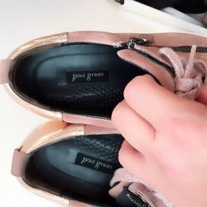 Paul Green Shoes - Paul Green Toby Pink Super Cool Sneakers